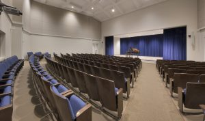 Auditorium Seats - Donate to Become a Part of the Center