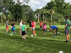 Soccer at The Els Center of Excellence