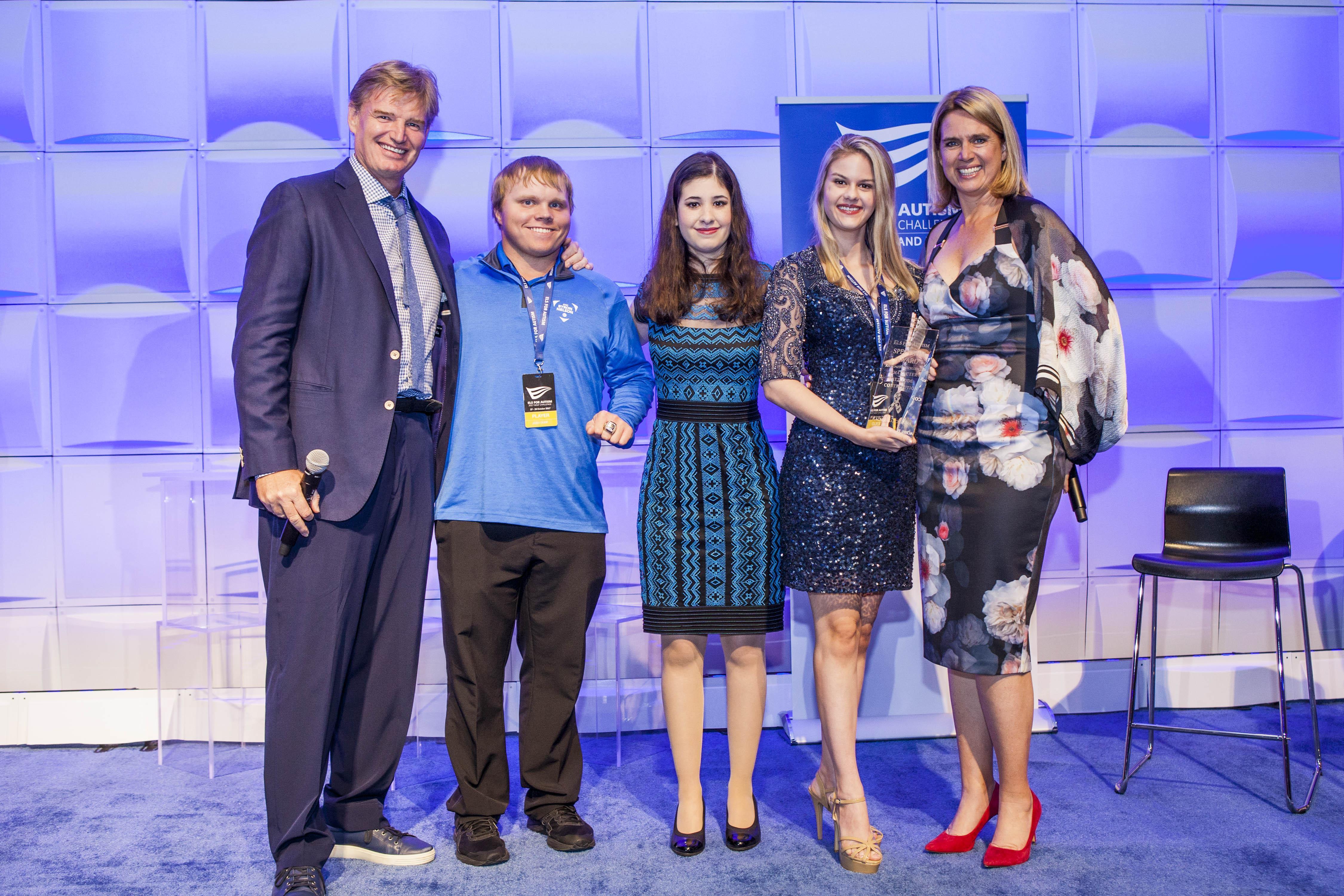 Els for Autism Golf Challenge Awards Ceremony