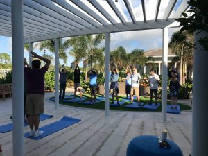 Yoga at The Els Center of Excellence