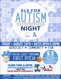 Els for Autism Give Back Event