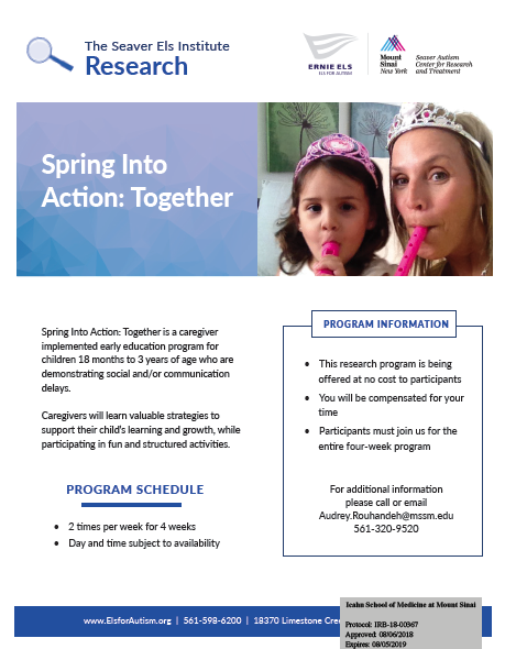 Spring Into Action Flyer