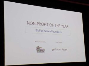 Els for Autism Foundation - Non Profit of the Year